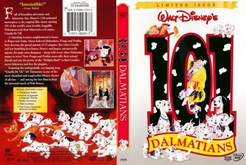 101 DALMATIANS Disney's Limited Issue NEW DVD - FREE POST - mmoetwil@hotmail.com