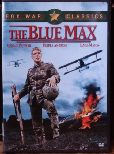 THE BLUE MAX Ursula Andress James Mason - NEW DVD FREE POST mmoetwil@hotmail.com