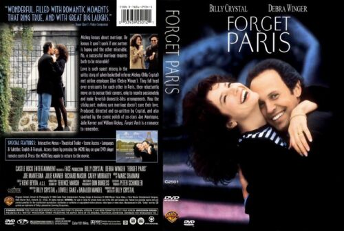 FORGET PARIS Billy Crystal Debra Winger NEW DVD - FREE POST mmoetwil@hotmail.com