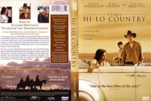 THE HI-LO COUNTRY Patricia Arquette - NEW DVD - FREE POST mmoetwil@hotmail.com