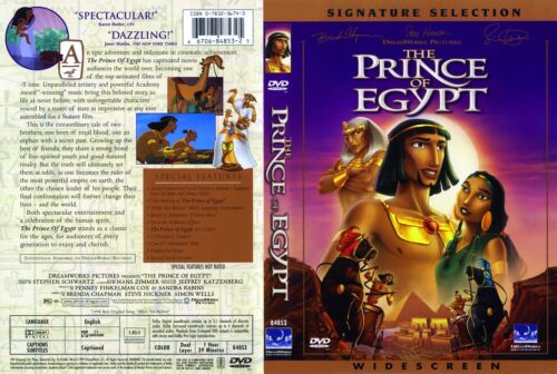THE PRINCE OF EGYPT Signature Selection - NEW DVD FREE POST mmoetwil@hotmail.com