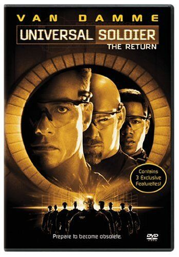 UNIVERSAL SOLDIER The Return JC Van Damme NEW DVD FREE POST mmoetwil@hotmail.com