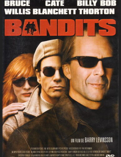 BANDITS with Bruce Willis Cate Blanchett  NEW DVD FREE POST mmoetwil@hotmail.com