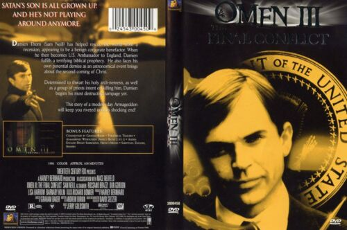 OMEN III - The Final Conflict - NEW DVD Box - FREE Post - mmoetwil@hotmail.com