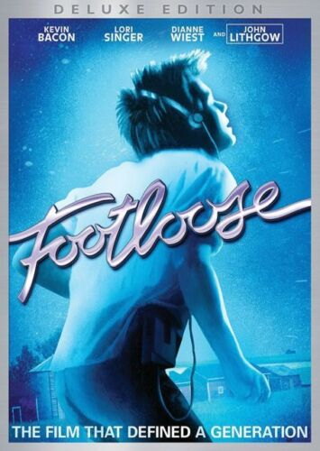 FOOTLOOSE Kevin Bacon Lori Singer NEW DVD Box - FREE Post - mmoetwil@hotmail.com