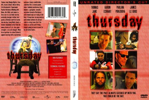 THURSDAY Unrated Director's Cut - NEW DVD Box - FREE Post - mmoetwil@hotmail.com