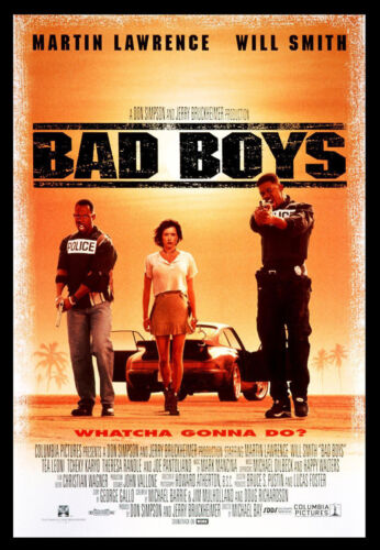 BAD BOYS  Will Smith Martin Lawrence NEW DVD Box FREE Post  mmoetwil@hotmail.com