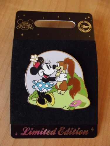 Vintage Minnie Mouse With Fifi Disney Pin LE 300 Pin 97998