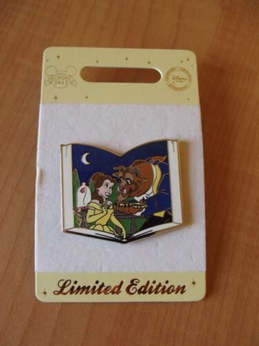 Beauty and the Beast Book Disney Pin LE 500 Pin 89529 New