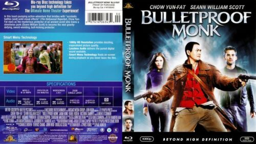 BULLETPROOF MONK with Chow Yun-Fat - NEW DVD Box FREE Post  mmoetwil@hotmail.com