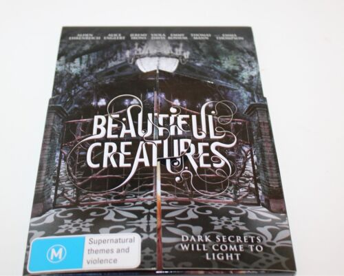 Beautiful Creatures DVD 2013 Fold Out 3D Case