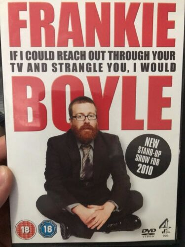 Frankie Boyle - If I Could Reach Out ... region 2 DVD (stand up comedy)