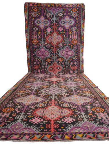 6x16′ Masterpiece Very Rare Antique Rug Kilim Handwoven Area Rug 67 x 195 inches