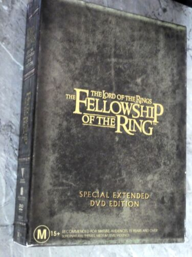 The Lord Of The Rings - The Fellowship Of The Ring (DVD, Region 4, 4-Disc Set)G5