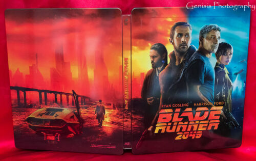 Blade Runner 2049 FAC 3D + Blu-Ray(World Excl. Artwork) Steelbook Sold Out