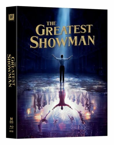MANTA LAB #019 THE GREATEST SHOWMAN STEELBOOK DOUBLE LENTI