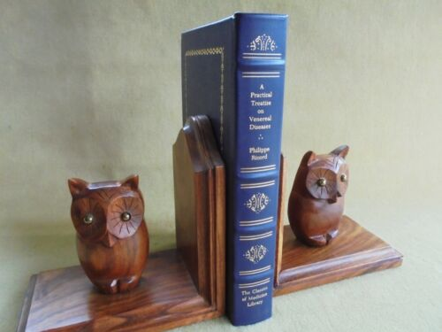 A PRACTICAL TREATISE ON VENEREAL DISEASES RICORD LEATHER BOUND 1st ED 1842 FACS