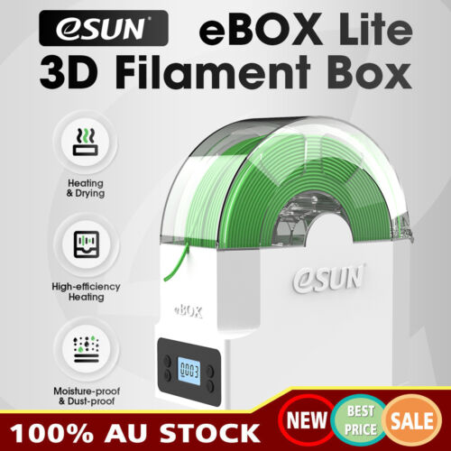 eSUN 3D Printing Filament Box Storage Holder Keeping Dry Measuring Weight