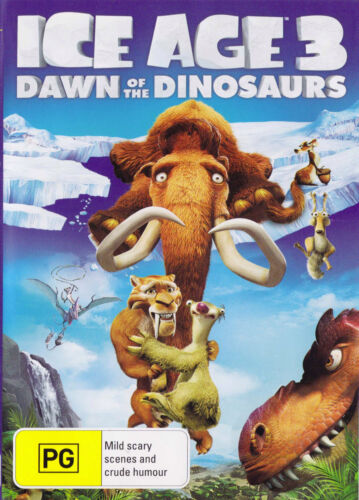 ICE AGE 3 Dawn Of The Dinosaurs DVD R4 PAL New SirH70