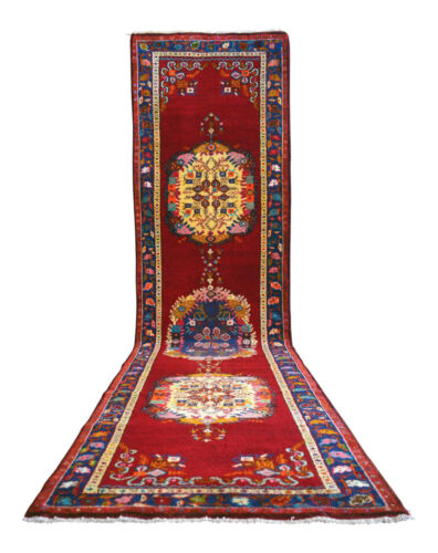 40 x 156 inches Runner Oushak Rug Hand Knotted Antique Long and Wide Runner Rugs