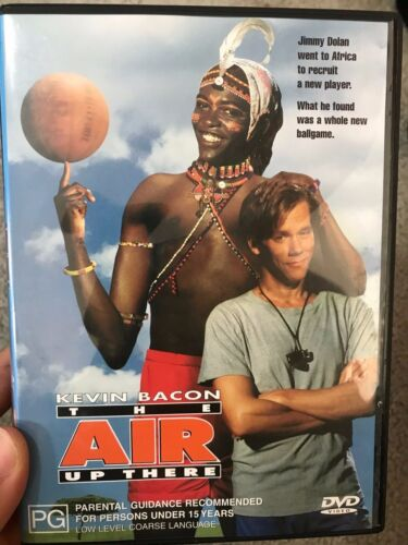 The Air Up There region 4 DVD (1994 Kevin Bacon basketball comedy movie)