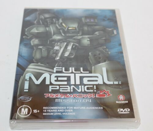Full Metal Panic Mission Vol 4 DVD 2004 Brand New Sealed