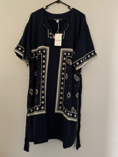 Country road WOMAN PRINT TIE FRONT DRESS