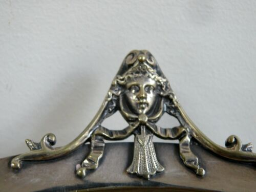 ANTIQUE SILVER FOOT DISH BOWL COMPORT DECORATIVE HANDLED GORHAM CO ANCHOR STAMP