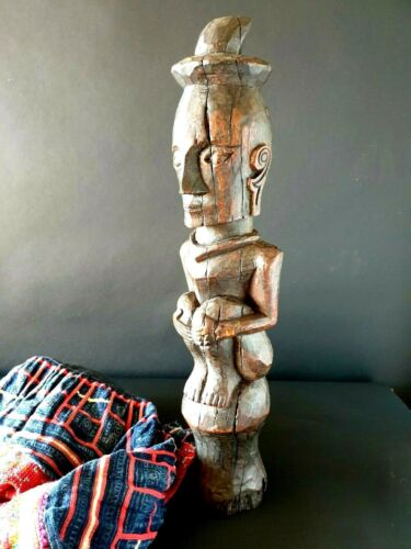 Old Nias Island Wood Carving from Dr Peter Elliott Collection …beautiful collect