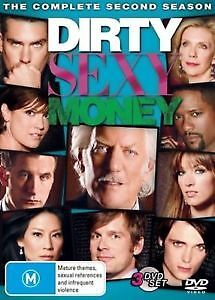 DIRTY SEXY MONEY - COMPLETE SECOND SEASON - BRAND NEW & SEALED DVD (3-DISC)