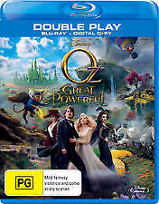 OZ THE GREAT AND POWERFUL - BRAND NEW & SEALED BLU RAY