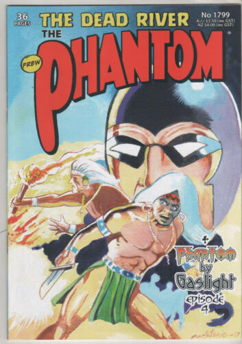 Phantom 1799  Frew Comic 2017 NEW UNREAD Dead River Gaslight Weathering Hate