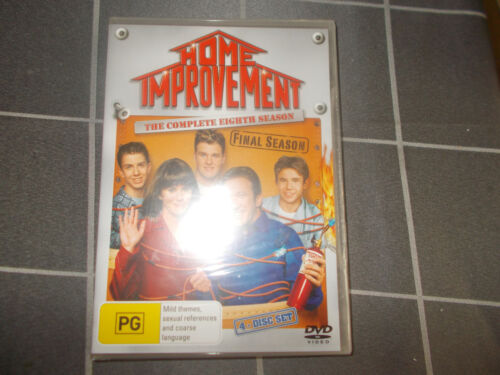 Home Improvement the Eighth and Final Season unopened region 4 DVD