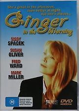 GINGER IN THE MORNING - NEW & SEALED DVD (SISSY SPACEK, FRED WARD, SUSAN OLIVER)