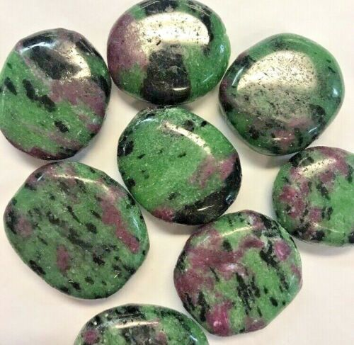 Ruby In Zoisite Smooth Stone - Stunning Crystal