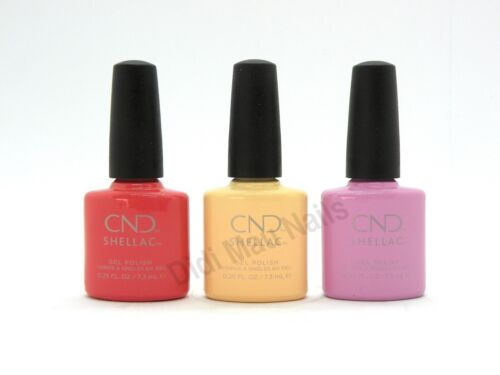 CND Shellac UV Gel Polish .25 oz - SWEET ESCAPE COLLECTION 2019 NEW!!