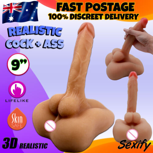 Life-like Gay Male Sex Doll Realistic Ass Dong Cock Male Masturbator Gay Sex Toy