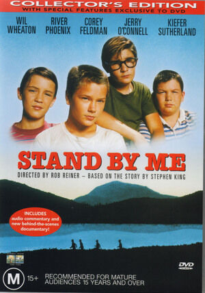 STAND BY ME - NEW & SEALED DVD (RIVER PHOENIX, COREY FELDMAN, JERRY O'CONNELL)