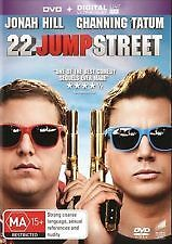 22 JUMP STREET - NEW (UNSEALED) DVD (CHANNING TATUM, JONAH HILL)