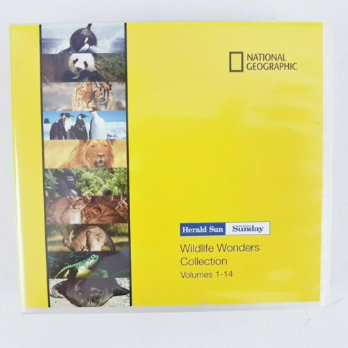 D6 National geographic wildlife wonders collection volumes 1 - 14 herald sun set
