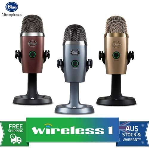 Blue Yeti Nano Premium USB Microphone - All Colours <br/> Use Code PZAP15 To Get 15% Off. Ends 21/3. T&Cs Apply.