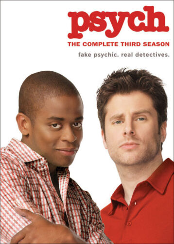 PSYCH: THE COMPLETE THIRD SEASON 3 - BRAND NEW & SEALED R4 DVD (4-DISC)