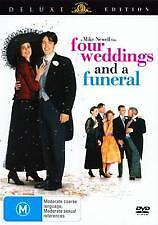 FOUR WEDDINGS AND A FUNERAL - BRAND NEW & SEALED DVD (HUGH GRANT) DELUXE ED'N
