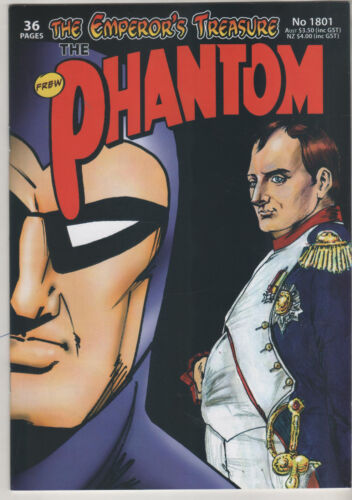 Phantom 1801  Frew Comic 2017 NEW UNREAD Australia Emperor's Treasure