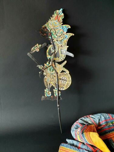 Old Balinese Wayang Shadow Puppet …beautiful collection piece
