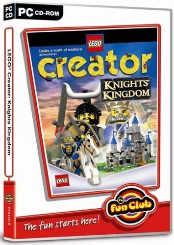 BRAND NEW LEGO PC GAME CREATOR CONSTRUCTION KNIGHTS KINGDOM FOR WINDOWS 95/98