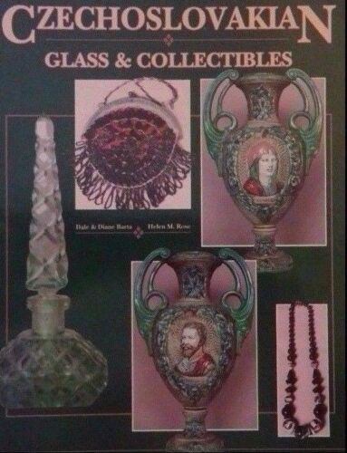 Czechoslovakian Glass Collectibles Value Guide Collector's Book