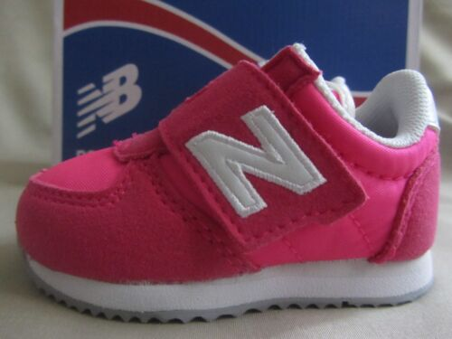 New Balance Sneakers Infant Girls Size 2 Hot Pink White New Without Box