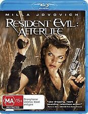 RESIDENT EVIL: AFTERLIFE - BRAND NEW & SEALED BLU RAY (MILLA JOVOVICH)