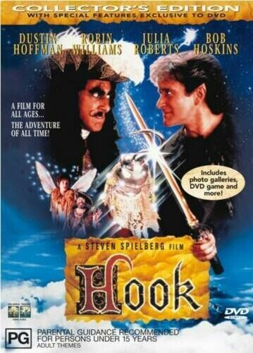 Hook Collector's Edition DVD 2000 Brand New Sealed